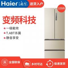 Haier/万博手机版 BCD-329WDVL 法式多门四开门冰箱家用风冷无霜