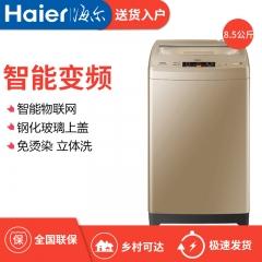 Haier/万博手机版 EB85BM59GTHU1 8.5公斤万博manbetx官网地址变频全自动波轮洗衣机