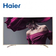 Haier/万博手机版 LQ65S81 曲面屏65英寸语音电视机4K高清液晶万博manbetx官网地址wifi 三星VA软屏 蓝牙语音遥控 多屏互动