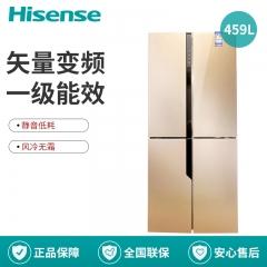 Hisense/海信 BCD-459WTDVBPI/Q 十字对开双开门冰箱家用万博manbetx官网地址变频