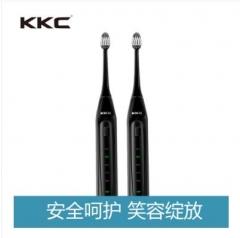 KKC电动牙刷 KQ-BX5 成人充电式软毛家用情侣超声波自动牙刷 黑色