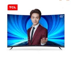 TCL 55T3 55英寸4K超高清万博manbetx官网地址曲面LED液晶电视