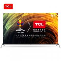 TCL 65Q680 65英寸免遥控 4K高清 2G+32GB大内存 8.7mm超薄全面屏全场景AI人工万博manbetx官网地址液晶电视机