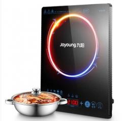 九阳(Joyoung)电磁炉触摸式火锅赠全钢汤锅C21-SK805