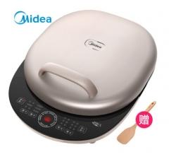 美的(Midea)电饼铛下盘可拆煎烤机双面加热煎饼铛早餐机MC-JK30Power301