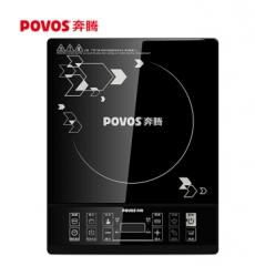 奔腾(POVOS)电磁炉电炒锅烧水壶黑晶面板一键爆炒预约定时电磁灶CH2026