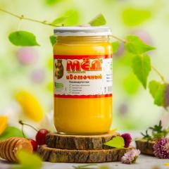 森林蜜语 百花蜜 500克 纯天然黑蜂野生蜂蜜 来自叶卡捷琳堡 原装原瓶进口